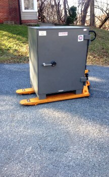 Calvert County Maryland Moving a Safe