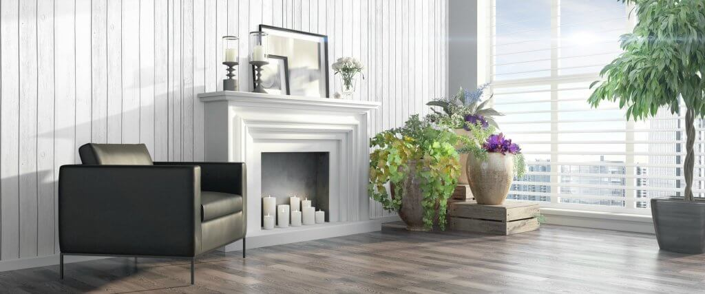 summer decorating tips - update the fireplace - Jake's Moving and Storage