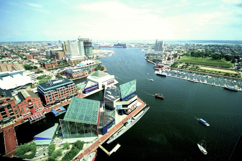 Baltimore Inner Harbor - Moving to Baltimore